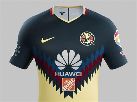 Club Am 233 Rica 17 18 Home Kit Revealed Footy Headlines Home Www Usanj