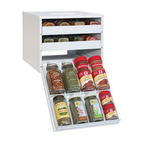 spice rack organizer youcopia classic spicestack 24 bottle spice organizer