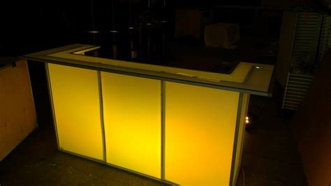 Illuminated Bars by Led Illuminated Bars Dpc Event Services