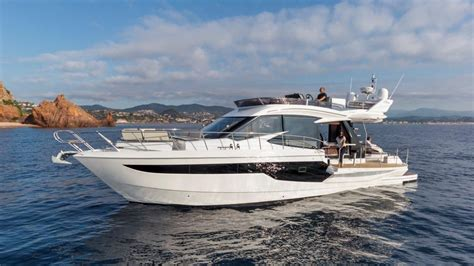 galeon yacht 2018 galeon 500 fly power boat for sale www yachtworld