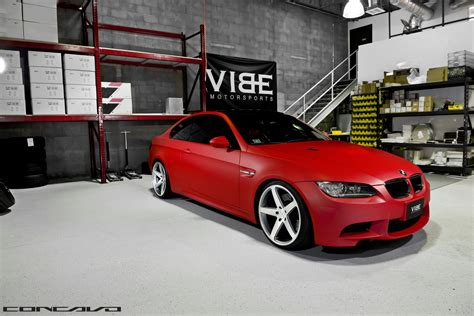 matte red bmw matte red bmw e92 m3 looks brilliant