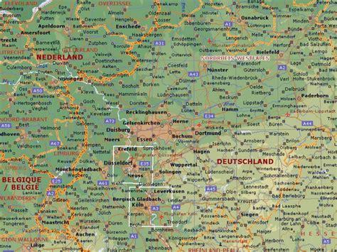 dortmund map of germany dot germany dortmund map 1
