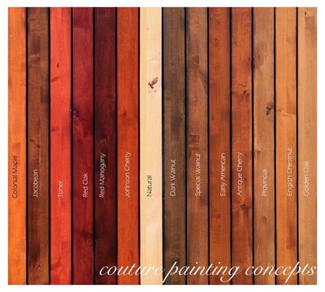 minwax colors 1000 ideas about stain colors on wood stain