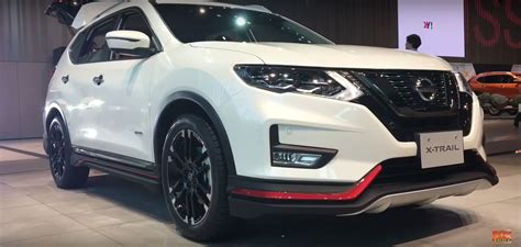 nissan rogue nismo nissan rogue gets nismo kit in japan during x trail