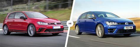 Golf R Comparison by Vw Golf Gti Clubsport S Vs Golf R Comparison Carwow