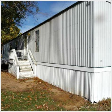 Painting A Mobile Home by S Song Mobile Home Exterior Before After