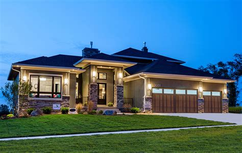 prairie home style architectural designs