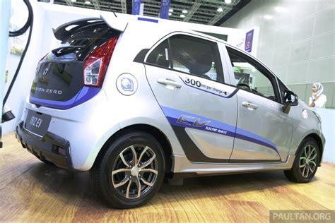 proton source proton iriz electric car debuts