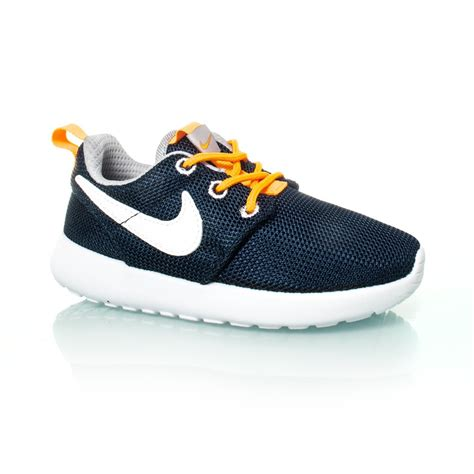 nike roshe one td toddler boys casual shoes navy