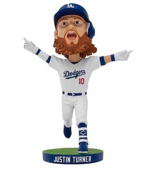 bobblehead giveaways 2018 dodgers unveil justin turner bobblehead as new addition to