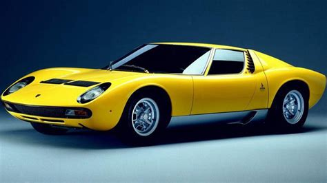 1960 Lamborghini Miura In The Fast With Auto Emporium Five Supercars That