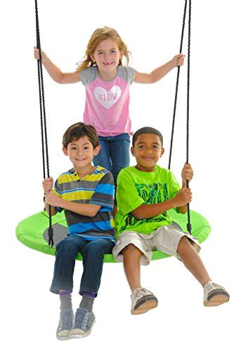 swinging with our friends swinging monkey products giant 40 quot saucer spinner swing