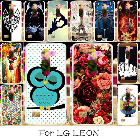 Lg Tribute 2 4g Lte H340n H320 C40 C50 H324 H340 45 Inch taoyunxi silicone plastic phone for lg tribute 2