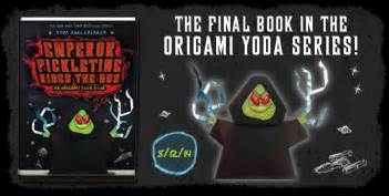 Origami Yoda Series - qwikpickpapers banner desktop