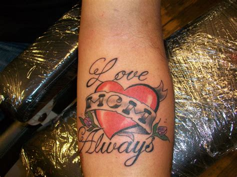 i love you mom tattoos designs tattoos