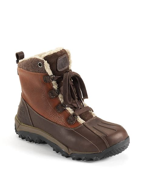 timberland hiking boots for timberland woodbury leather hiking boots in brown for