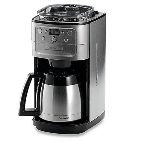 cuisinart coffee maker bed bath beyond cuisinart 174 grind brew thermal 12 cup automatic coffee