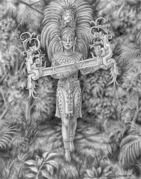 ancient mayan language | jaguar woman in the ancient