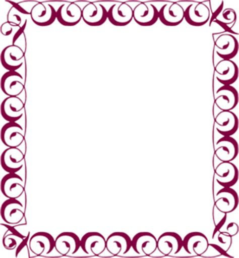 8 5 x 5 5 fancy card border polka dot templates fancy border clip at clker vector clip