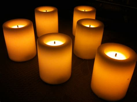 Led Candle Lights by Votive Candles Vs Battery Powered Led Lights The