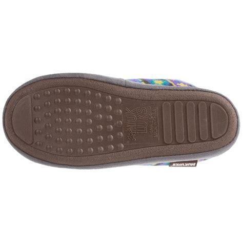muk luk slipper muk luks grommet boot slippers for save 83