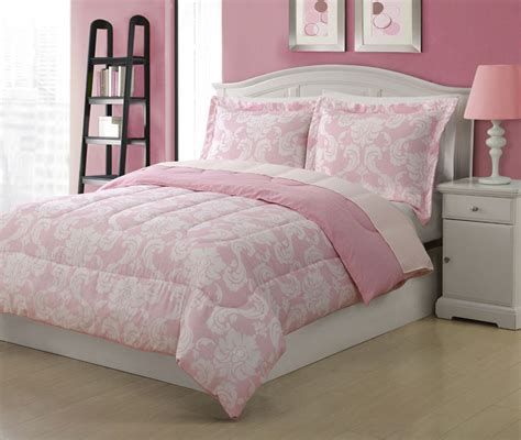 pink bed spread kids comforters full