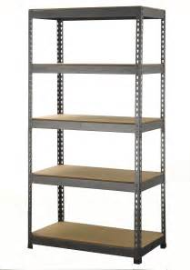 Garage Shelving Storage 5 Tier Boltless Industrial Racking Garage Shelving Storage