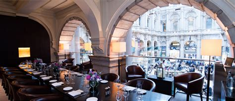 the room exchange luxury dining rooms at the royal exchange