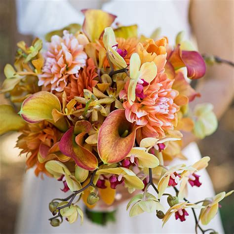fall wedding flower ideas pictures fall wedding flower ideas wedding and bridal inspiration