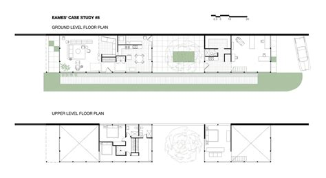 case study houses floor plans the eames house case study house no 8 architects