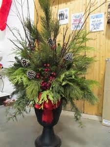 1000 ideas about christmas urns on pinterest christmas
