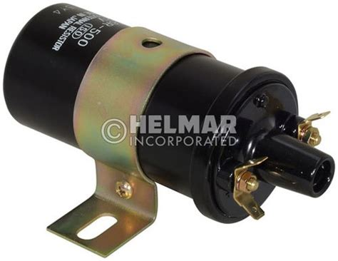 ignition coil external resistor mm115566 mitsi cat original hitachi ignition coil 12 volt external resistor type b ignition