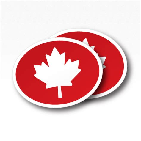 Rectangle Square oval stickers canadastickers com