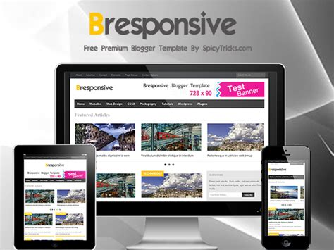 bresponsive advanced responsive premium magazine blogger