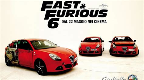 Fast And Furious 6 Alfa Romeo by Alfa Romeo Giulietta Promoted In Fast Furious 6