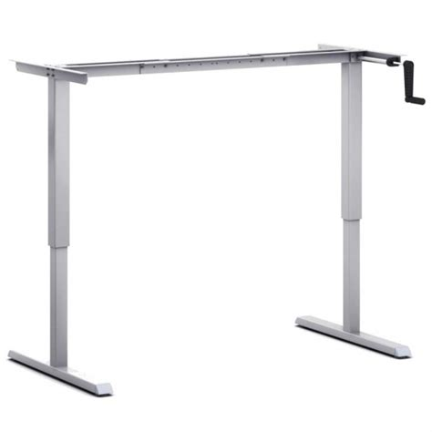 height adjustable desk frames height adjustable table frames no crossbar easy wheelchair access