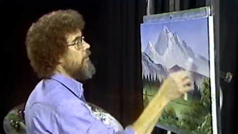 bob ross painting twitch twitchにお絵かき実況チャンネルが登場して ボブの絵画教室 全話マラソン開催中 ね 簡単でしょう