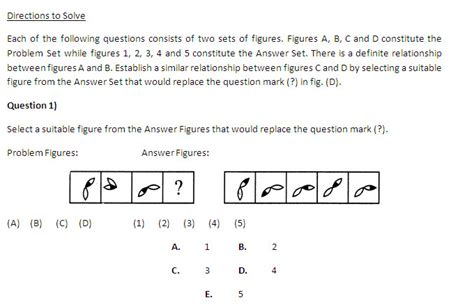 Mba Cat Logical Questions by Non Verbal Reasoning Problems On Analogy Cat 2015 Preparation