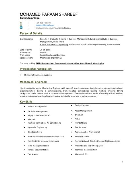 project management curriculum vitae sles faraan cv with project portfolio