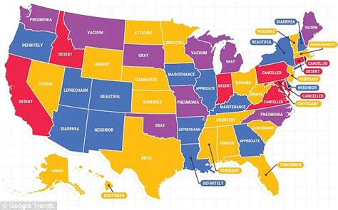 How To Search In Usa Reveals The Most Misspelled Words In Each Us Region