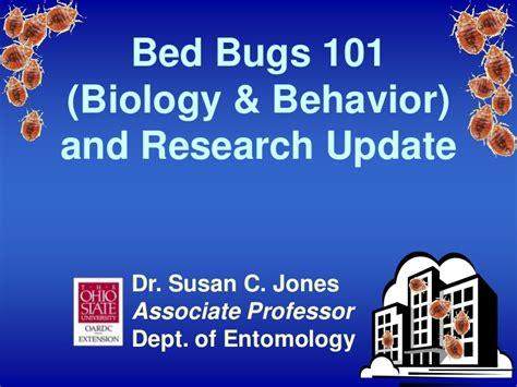 bed bug behavior fairfield 073112