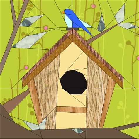 birdhouse quilt pattern birdhouse bom march by janeenvn quilting pattern