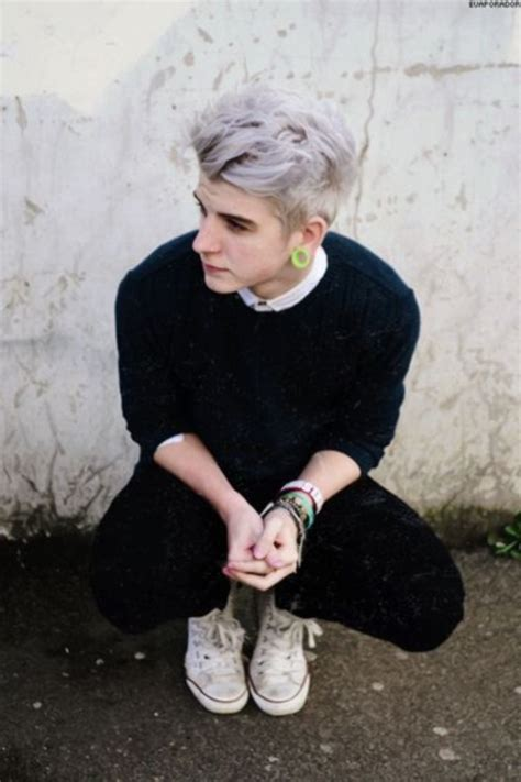grunge hairstyles guys 40 graceful silver hairstyles for men to have in 2017