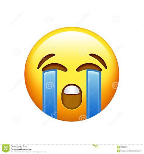 imagenes de emoji triste cara triste amarilla de emoji con el icono gritador del