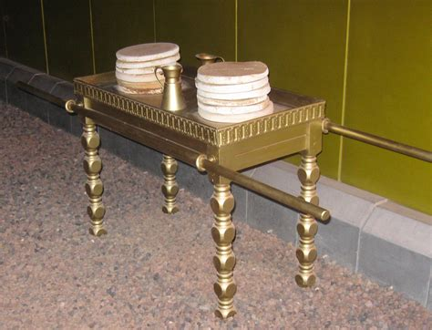 Table Of Showbread file timna tabernacle table of showbread jpg