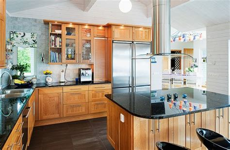 stylish kitchen ideas stylish cottage kitchen style with wooden