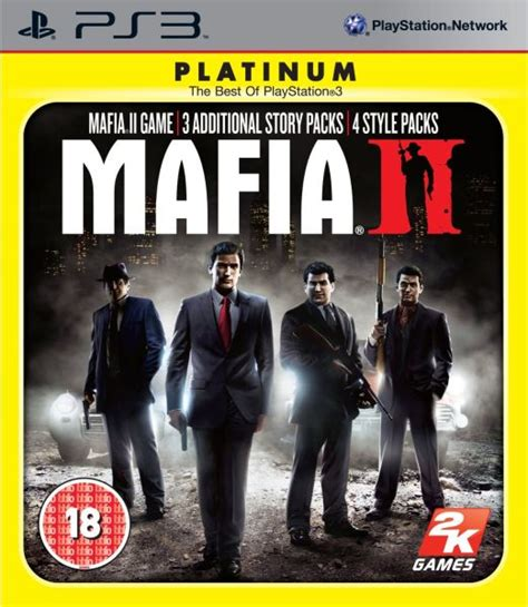 Mafia Ii Ps3 Cd mafia 2 directors cut platinum ps3 zavvi