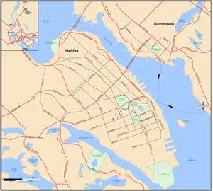 halifax canada map halifax dartmouth map halifax scotia canada mappery