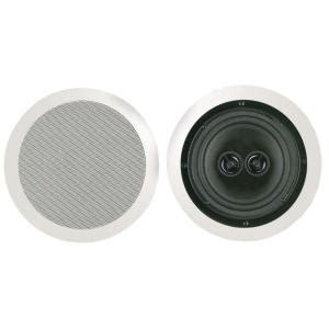 bic america 8 in dual voice coil stereo ceiling speaker