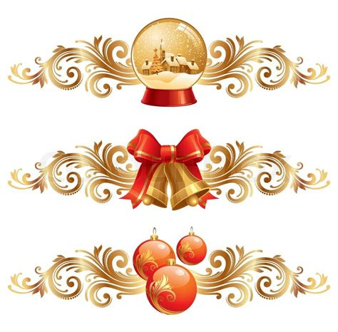 images of christmas symbols christmas design elements holiday symbols vector